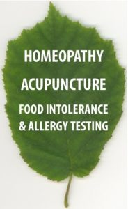 Acupuncture, Homeopathy and Food Intolerance Testing