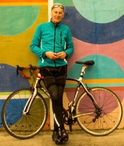 Michael Thompson cycling in London